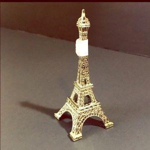 Silver Mini Eiffel Tower decor